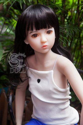 128cm幼い【 Blanca】 SEdoll A-cupロリラブドール4ft3