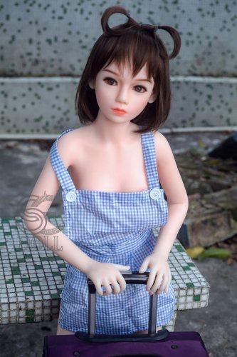 128cm【Narda】SEdoll A-cup 可愛いリアルドール#4ft3