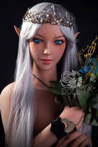 150cm白髪【Amanda】 SEdoll E-cupロリラブドール#4ft9