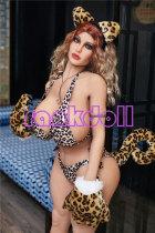 140cm【Leopard Girl Mia】巨乳Irontech Doll 異国顔 ラブドール