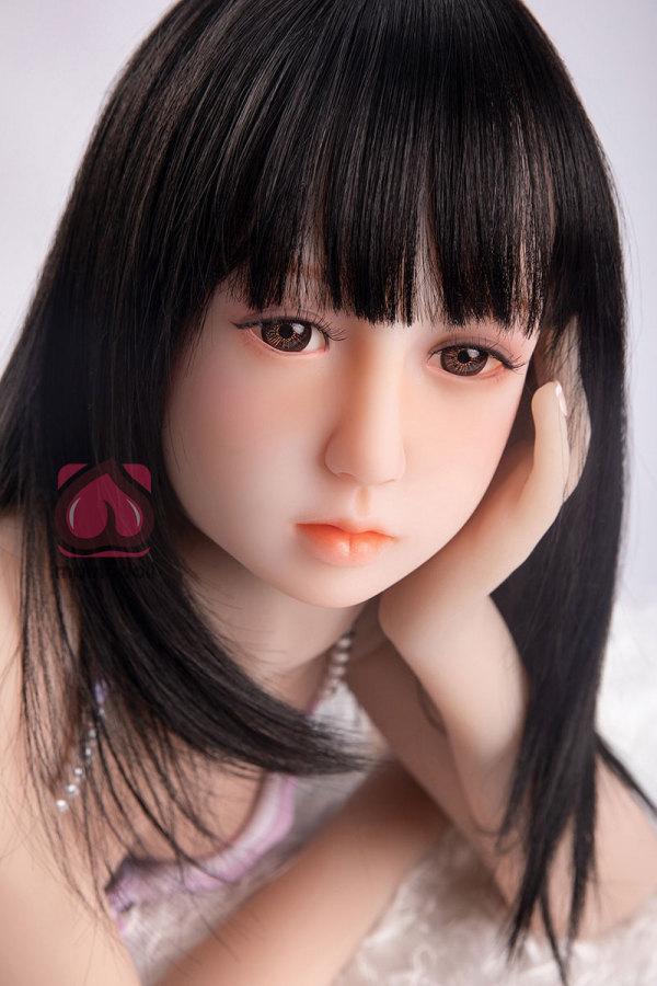 132cm黒髪【紗和】新ブランドMOMOdollロリラブドール