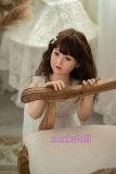 110cm【ゆみさん】WAXdollシリコン製幼い系ロリドール# G34