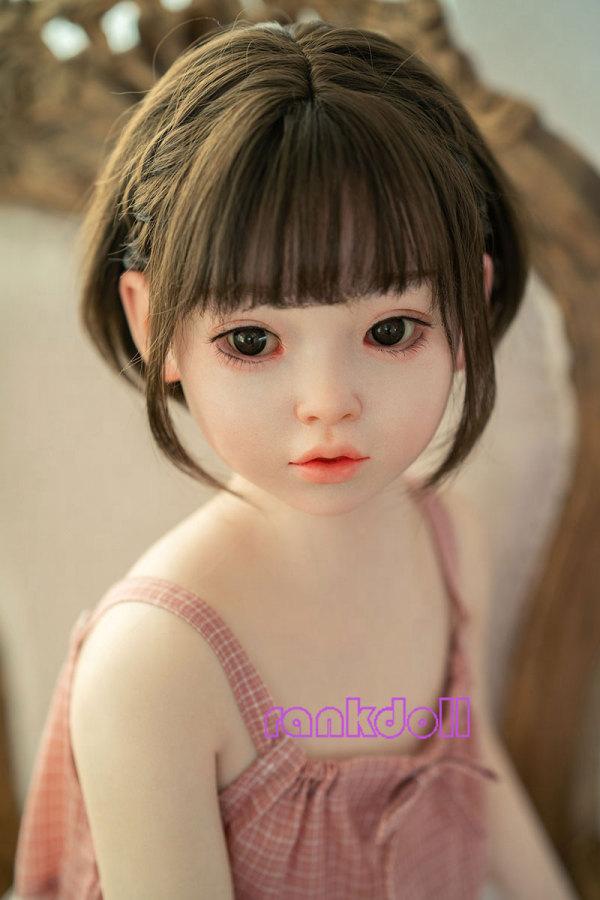 110cm【聡子さん】WAXdoll平胸シリコン製可愛いロリドール# G58