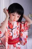 紗雪 128cm 美乳 MOMODoll##010 和服リアルロリドール
