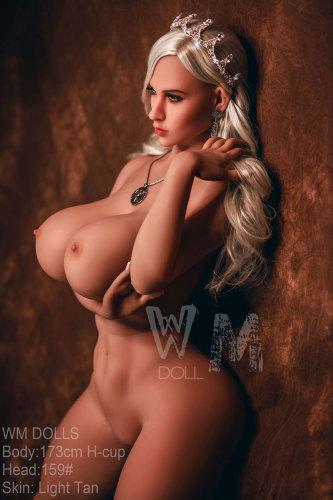 Life Size Big Booty BBW Sex Doll WM Dolls - Evelyn