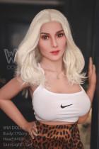 Crystal - Blonde Mature 170cm D-cup #408 Head TPE WM Best Love Dolls