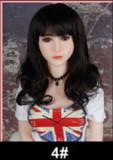 Doris - D-cup Cute Loli Face 158cm WM 12# Silicone Head Realist Real Doll
