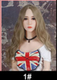 Gloria - B cup Handsome Silver-Haired #235 Head 157cm WM TPE Real Doll