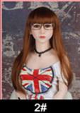 Gina - F cup Beautiful Labia #74 Head 162cm WM TPE Real Doll Sex