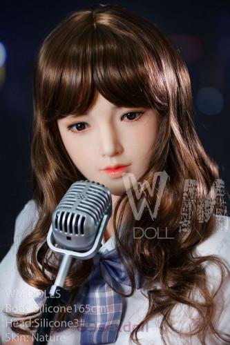 Fiona - E-Cup Uniform Beauty 3# Head 165cm WM Silicone Real Doll