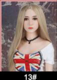 Eve - E-Cup Blonde Curly Hair 334# Head 162cm WM TPE Reddit Sex Doll