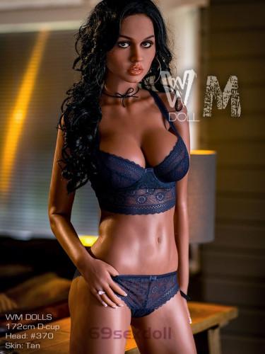 Joanna - D cup Buttocks Sex Dolls for Men #370 Head TPE 172cm WM Love Doll