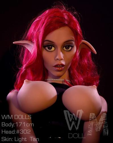 Lorraine - Red Hair Sex Dolls for Sale #302 Head TPE 171cm WM Sexy Real Doll