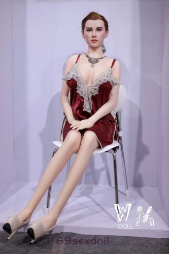 Lucy - Blue Eyes Bbw Sex Doll 1# Head Silicone Head 168cm WM Reddit Real Dolls