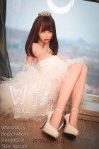 Vicky - Japanese Beauty Real Life Sex Doll 314# Head TPE 148cm WM Realistic Male Real Dolls