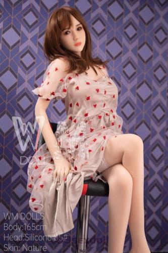 Yvonne - Cute Style Hot Sex Doll 85# Head Silicone Head 165cm WM Lifelike Real Dolls