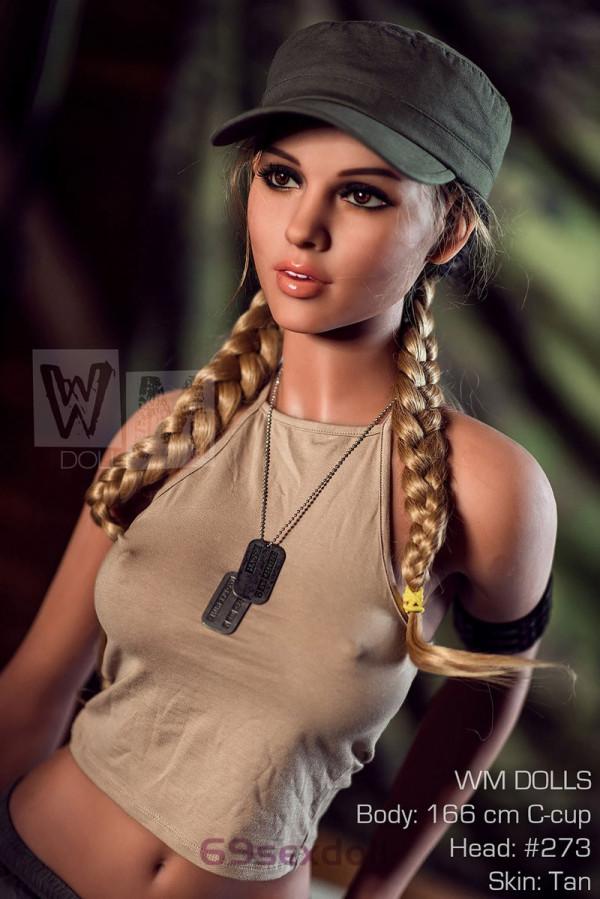 Vanessa - C cup Army Beauties Sex Doll #273 Head TPE 166cm WM Plush Real Dolls