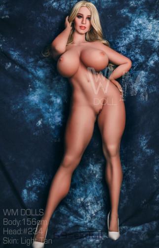 Teresa - M cup Big Breasts Realistic Sex Doll #234 Head TPE 156cm WM Girl Real Dolls