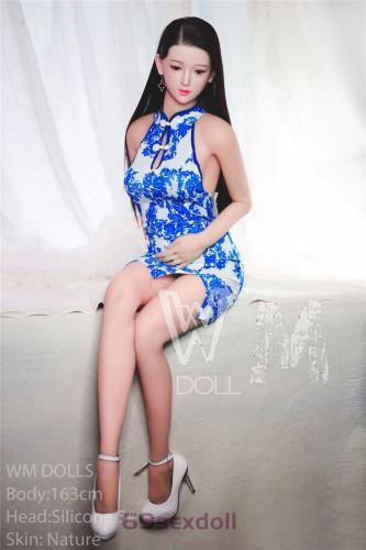 Elizabeth - Cheongsam Beauty Realistic Male Sex Doll 5# Head Silicone Head 163cm WM Young Real Dolls