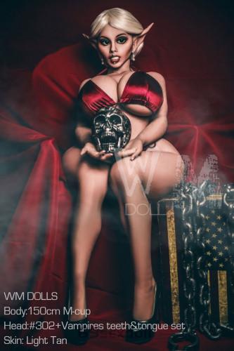 Jillian - M cup #302 Head TPE Fat Butt Human Sex Doll 150cm WM BBW Real Dolls