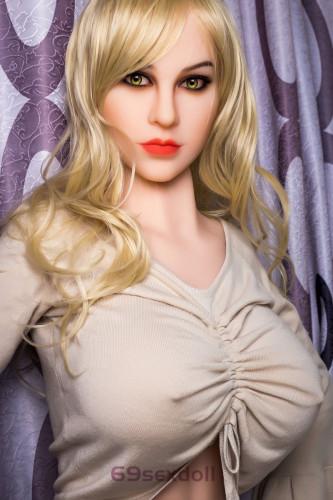 Leah - Deep Eyes Realist Sex Doll 206# Head TPE 161cm WM Hot Real Dolls