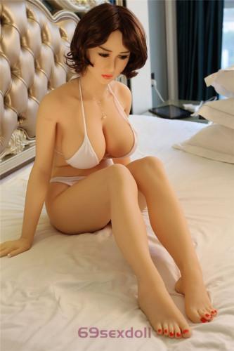 Gabriela - Mature Lady Young Sex Doll 73# Head TPE 161cm WM Cheap Real Dolls