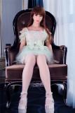 Jordan - Long Brown Hair Lesbian Sex Doll 45# Head 161cm WM TPE Male Real Dolls