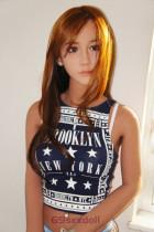 Serenity - Long Brown Hair Realist Sex Doll 85# Head TPE 153cm WM Hot Real Dolls
