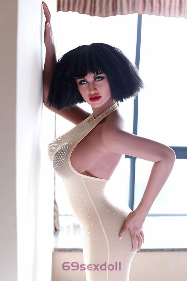Leslie - Big Breasts 168cm WM 174# Head TPE Sexy Real Doll