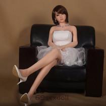 Alyssa - Short Brown Hair 165cm 31# Head TPE WM New Real Dolls