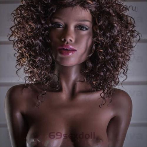 Kendall - A-cup Explode Hair 64# Head 168cm WM TPE Real Doll Creampie