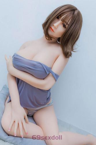 Angelina - Short Hair Human Sex Doll 53# Head 168cm WM TPE BBW Real Dolls