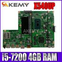 Akemy X540UP laptop Motherboard X540UP X540U A540U R504U Mianboard i5-7200 4GB RAM  X540UP