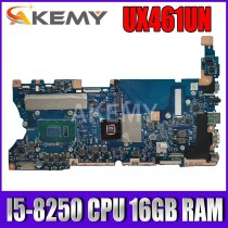 Akemy UX461UN Motherboard I5-8250 CPU 16GB RAM N17S-LG-A1 Mainboard REV2.1 For ASUS UX461UN UX461 UX461U Motherboard Test ok