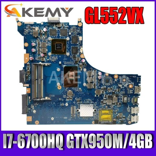 GL552VW REV.2.1 Laptop motherboard I7-6700HQ GTX950M/4GB for ASUS ROG GL552VW GL552VX GL552V GL552VW motherboard test ok