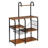 Premium Kitchen Microwave Storage Cart Stand 35.5