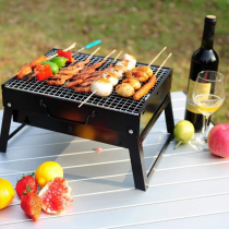 Premium Portable Small Tabletop Charcoal Grill
