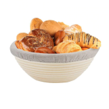 Round Banneton Bread Proofing Basket Bowl