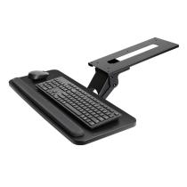 Premium Adjustable Under Desk Clamp On Keyboard Drawer Tray