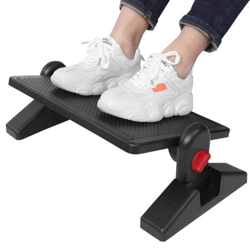 Adjustable Under Desk Office Foot Rest Ergonomic Footstool