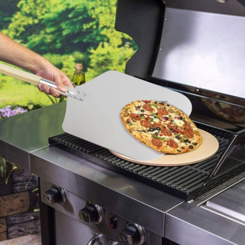 Aluminum Pizza Paddle Peel 13  x 12
