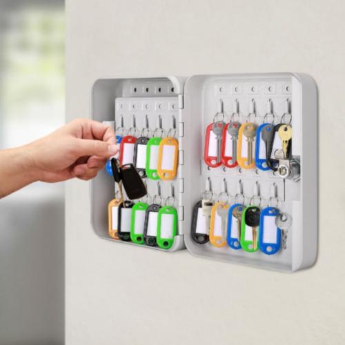 Heavy Duty Locking Key Holder Cabinet Locking Storage Box