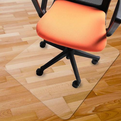 Transparent Office Rolling Computer Desk Chair Mat