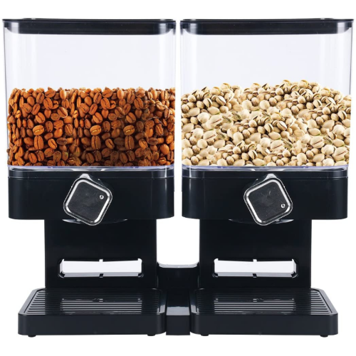Double Dry Food / Cereal Dispenser Set