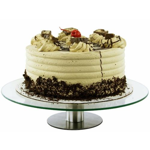 Rotating Small Cake Turntable Display Pedestal Stand 12