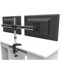 Heavy Duty Dual Computer Monitor Arm Stand For Desk