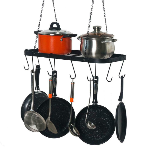 Ceiling Hanging Pots And Pans Organizer Rack 24