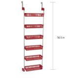 Luxurious Over The Door Kitchen Pantry Organizer Spice Storage Rack
