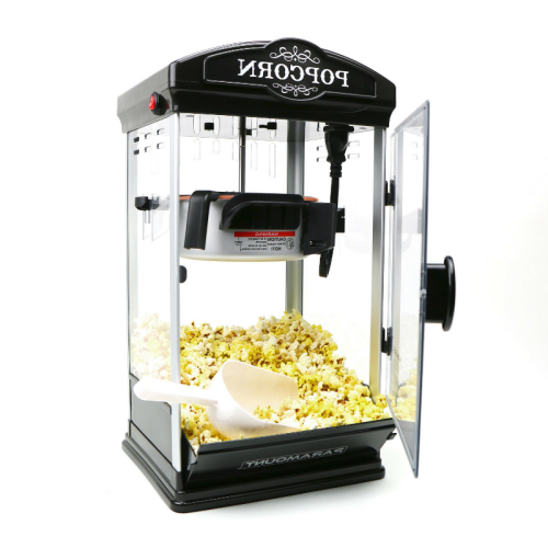 8 oz Home Tabletop Popcorn Making Machine Black
