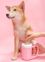 Rotating Pet Paw Cleaning Cup